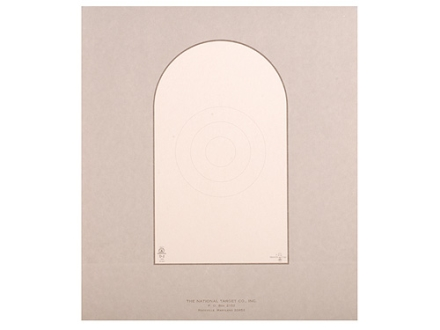 NRA Official Pistol Target D-2 50-Foot Paper Package of 100