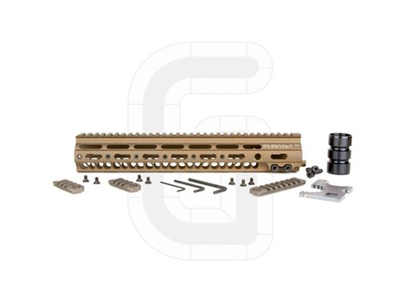 Geissele Super Modular Rail MK1 Free Float Handguard AR-15 Aluminum Sand 13&quot;
