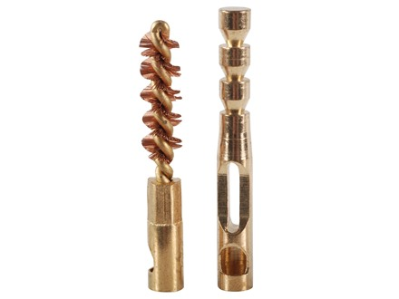 Real Avid ZipWire Rifle Cleaning Brush and Jag .22 Caliber Brass Combo Pack