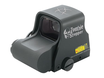 EOTech XPS2-Z Zombie Stopper Holographic Weapon Sight 1 MOA Dot Biohazard Reticle Matte CR123 Battery