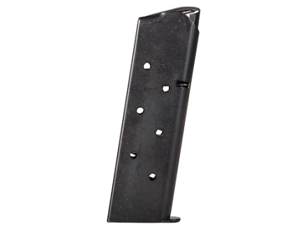 Metalform Magazine 1911 Government, Commander 45 ACP 7-Round Steel Blue Round Follower Welded Base