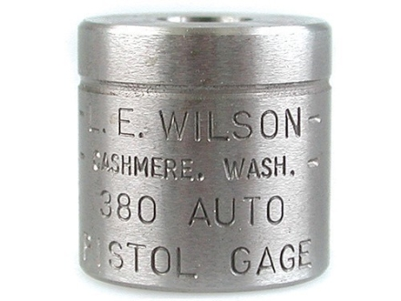 L.E. Wilson Max Cartridge Gage 380 ACP