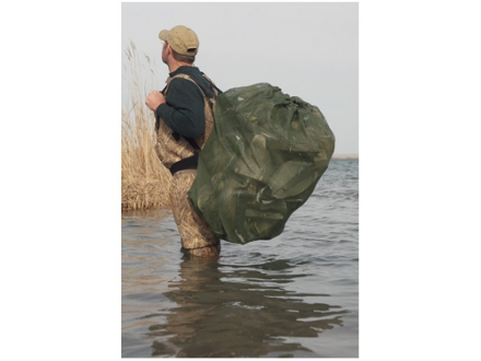 Avery Square Bottom Duck Decoy Bag Holds 36 Decoys Mesh Moss Green