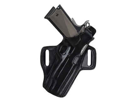 Galco Fletch Belt Holster Right Hand Sig Sauer P220, P226 Leather Black
