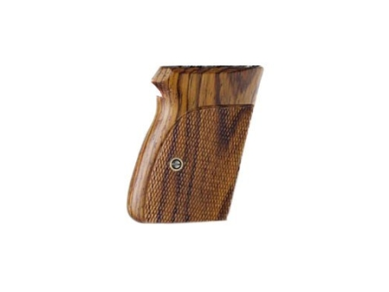 Hogue Fancy Hardwood Grips Walther PPK Checkered Cocobolo