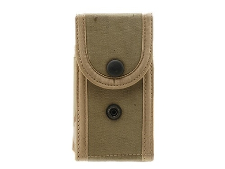 Bianchi M1030 Military Magazine Pouch 1911, Ruger P91, S&amp;W 1066, 1076, 3913, 4516 Nylon Desert Camo