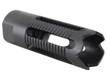 Yankee Hill Machine Flash Hider Phantom 5C2 Aggressive 5/8&quot;-24 Thread AR-10, LR-308 Steel Parkerized