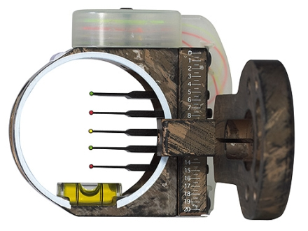 Montana Black Gold Flashpoint 5-Pin Bow Sight .019&quot; Pin Diameter Right Hand Aluminum Camo
