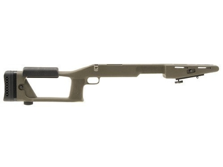 "Choate Ultimate Sniper Rifle Stock Remington 700 ADL Short Action 1.25"" Barrel Channel Synthetic Olive Drab"