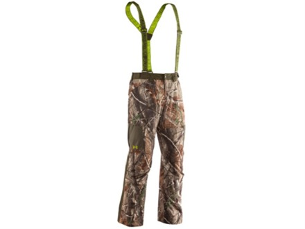 Under Armour Men&#39;s Gunpowder Scent Control Waterproof Insulated Pants Polyester Realtree AP Camo 44 Waist