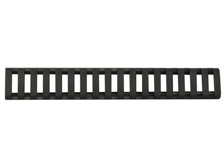 "Daniel Defense Low Profile Picatinny Rail Cover 6-1/2"" Polymer Package of 3"