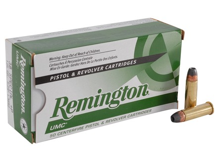 Remington UMC Ammunition 38 Special +P 125 Grain Jacketed Hollow Point Box of 50