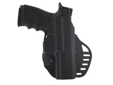 Hogue PowerSpeed Concealed Carry Holster Outside the Waistband (OWB) Right Hand Smith & Wesson M&P 9, 40  Polymer Black