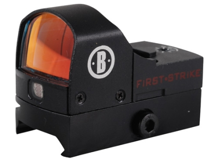 Bushnell First Strike Reflex Red Dot Sight 5 MOA Dot with Integral Weaver-Style Base Matte