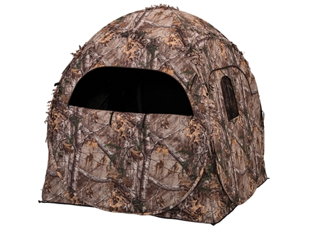 "Ameristep Doghouse Ground Blind 60"" x 60"" x 66"" Polyester Realtree Xtra Camo"