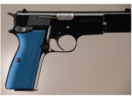 Hogue Extreme Series Grip Browning Hi-Power Aluminum Matte Blue