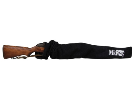 "MidwayUSA Silicone Impregnated M1 Carbine/Mini-14 Rifle Gun Case 40"" Polyester Dark Gray"