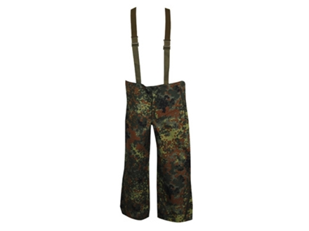 Military Surplus New Condition German Wet Weather Pants Flectarn Camo Large