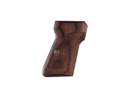 Hogue Fancy Hardwood Grips Walther PP, PPK/S Checkered Rosewood Laminate