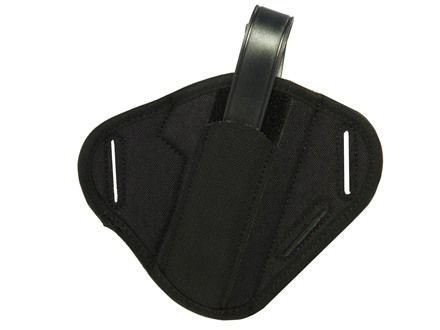 "Uncle Mike's Super Belt Slide Holster Ambidextrous Large Frame Semi-Automatic 4.5"" to 5"" Barrel Nylon Black"
