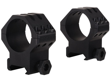 Weaver 30mm Tactical 6-Hole Weaver-Style Rings Matte High
