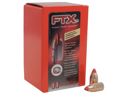 Hornady LEVERevolution Bullets 444 Marlin (430 Diameter) 265 Grain Flex Tip eXpanding Box of 50