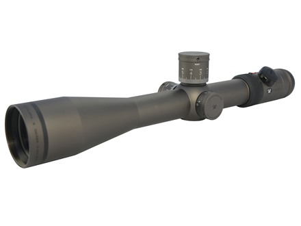 Vortex Razor HD Rifle Scope 35mm Tube 5-20x 50mm Side Focus 1/10 MIL Adjustments (10 Mil/Rev) First Focal Illuminated EBR-3 Reticle Stealth Shadow Black