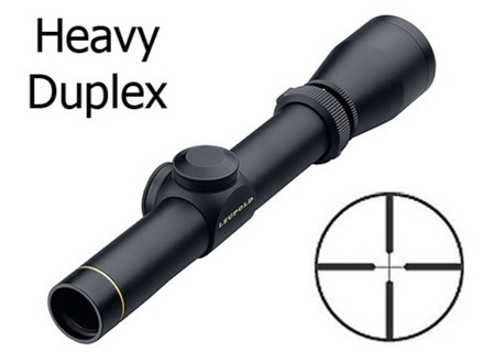 Leupold VX-I Shotgun Scope 1-4x 20mm Heavy Duplex Reticle Matte