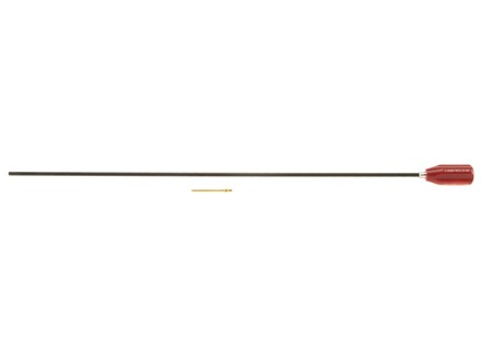Dewey 1-Piece Cleaning Rod 22 to 26 Caliber 24&quot; Nylon Coated 8 x 36 Thread