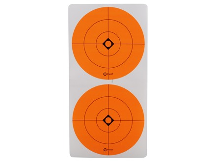 "Caldwell Shooting Spots 3"" Pack of 12 Sheets 2 Spots per Sheet Orange"