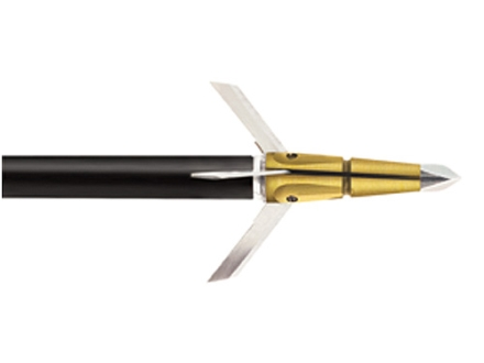 Trophy Ridge Rocket Miniblaster Mechanical Broadhead 75 Grain Stainless Steel Pack of 3