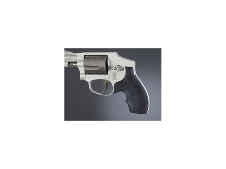 Hogue Bantam Grips with Top Finger Groove S&W J-Frame Round Butt Rubber