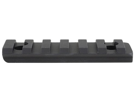 GG&G Half Length Picatinny Rail for AR-15 Tactical Modular Handguard 3 & 9 o'clock Position Aluminum Matte