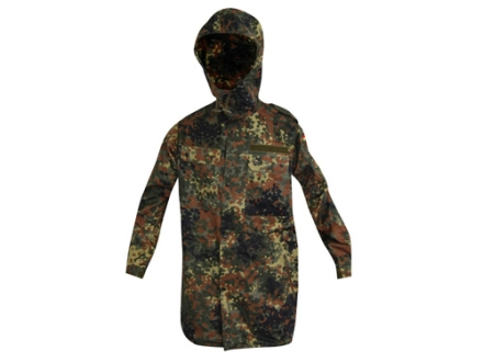 Military Surplus New Condition German Cold Weather Parka Flectarn Camo Extra Large