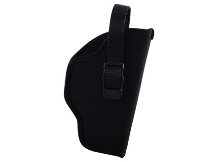 "GrovTec GT Belt Holster Right Hand with Thumb Break Size 15 for 3.5-4.5"" Barrel Large Frame Semi-Automatics Nylon Black"