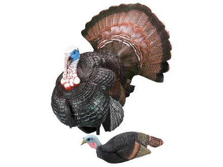 Carry-Lite Pretty Boy and Pretty Girl Turkey Decoy Set Polymer