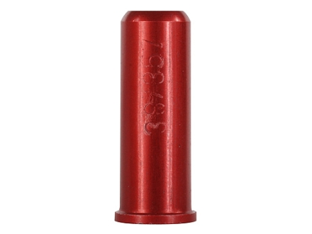Carlson's Snap Cap 38 Special/357 Magnum Aluminum Red Package of 6