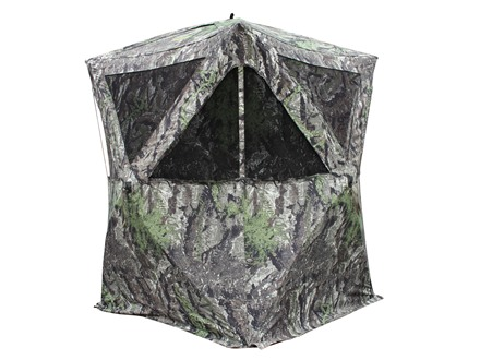 Primos The Club Ground Blind 48&quot; x 48&quot; x 64&quot; Polyester Ground Swat Grey Camo