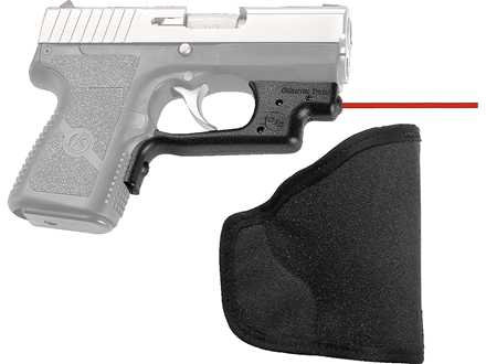 Crimson Trace Laserguard with Pocket Holster Kahr P9, PM9, CW9, P40, PM40, CW40 Polymer Black
