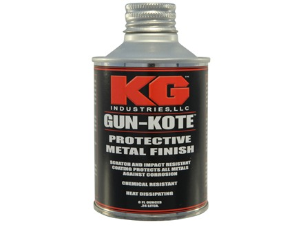 KG Gun Kote 2400 Series Flat Black 8 oz
