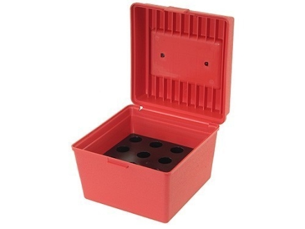 MTM 12-Die Storage Box Red
