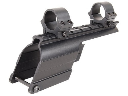 "B-Square Shotgun Saddle Mount with 1"" Rings Maverick 91 12 Gauge Matte"