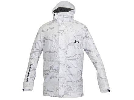 Under Armour Men&#39;s Gunpowder Scent Control Waterproof Insulated Jacket Polyester