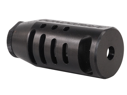 "Arredondo N x G Muzzle Brake 1/2""-28 Thread AR-15 Black Oxide"