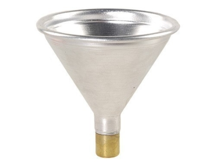 Satern Powder Funnel 25 Caliber Aluminum and Brass