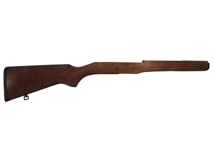 Ruger Rifle Stock Wood with Buttplate Ruger Mini-14 Stainless & Blued, Wood Stock Models