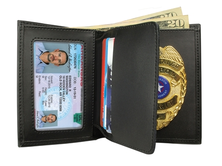 Personal Security Products Concealed Carry Badge &amp; Wallet