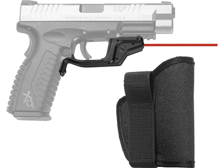 Crimson Trace Laserguard with Pocket Holster Springfield XD, XDM Polymer Black