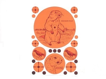 "Lyman Target Varmint Assortment Sheet 7"" x 10"" Package of 10"
