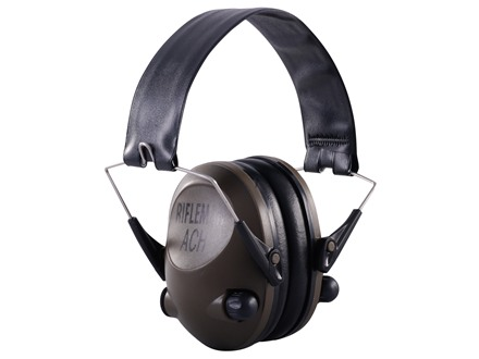 BenchMaster Rifleman ACH Electronic Ear Muffs (NRR 21dB) Olive Drab